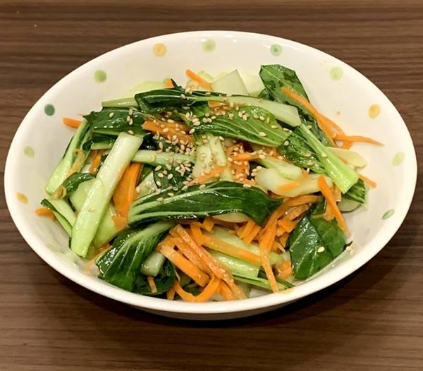 チンゲン菜の和風ナムル