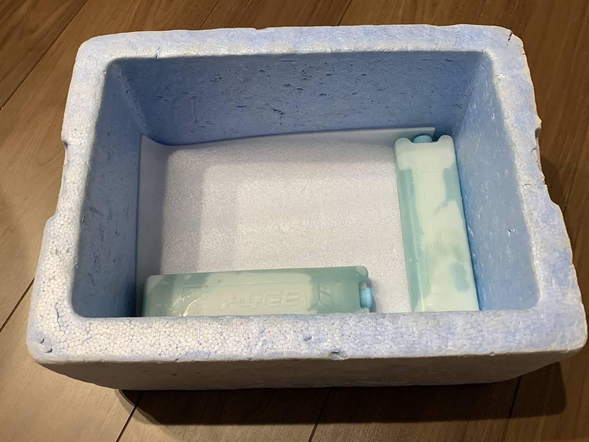 食材宅配サービスの保冷剤