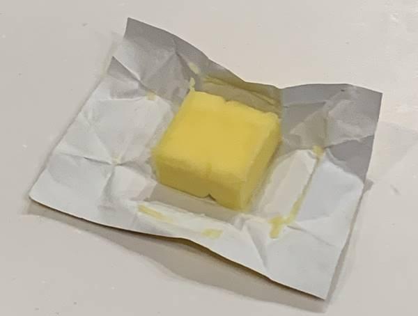 購入したバター