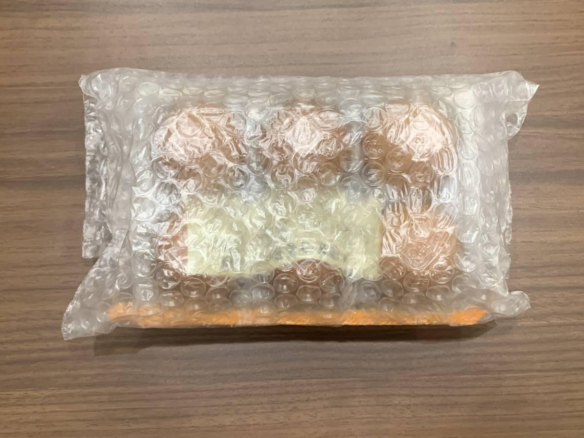 プチプチで卵を包装