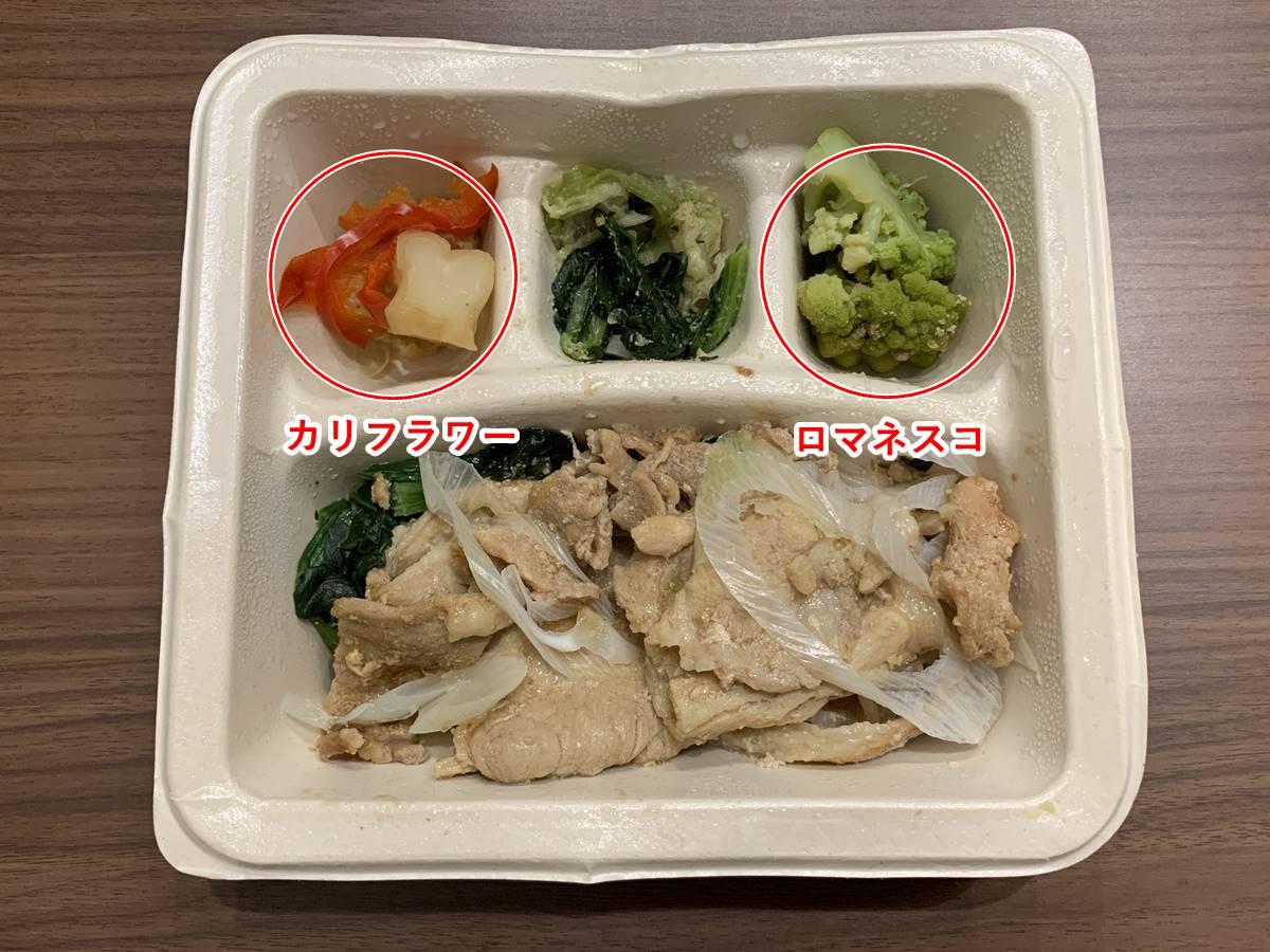 「豚の生姜焼き」の副菜