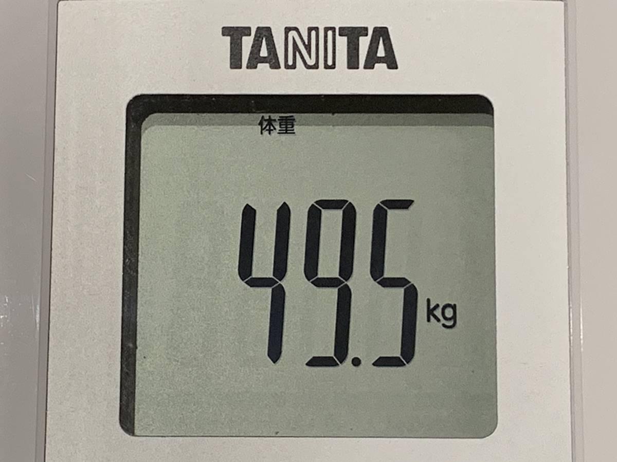 10日間お弁当を食べた後の体重