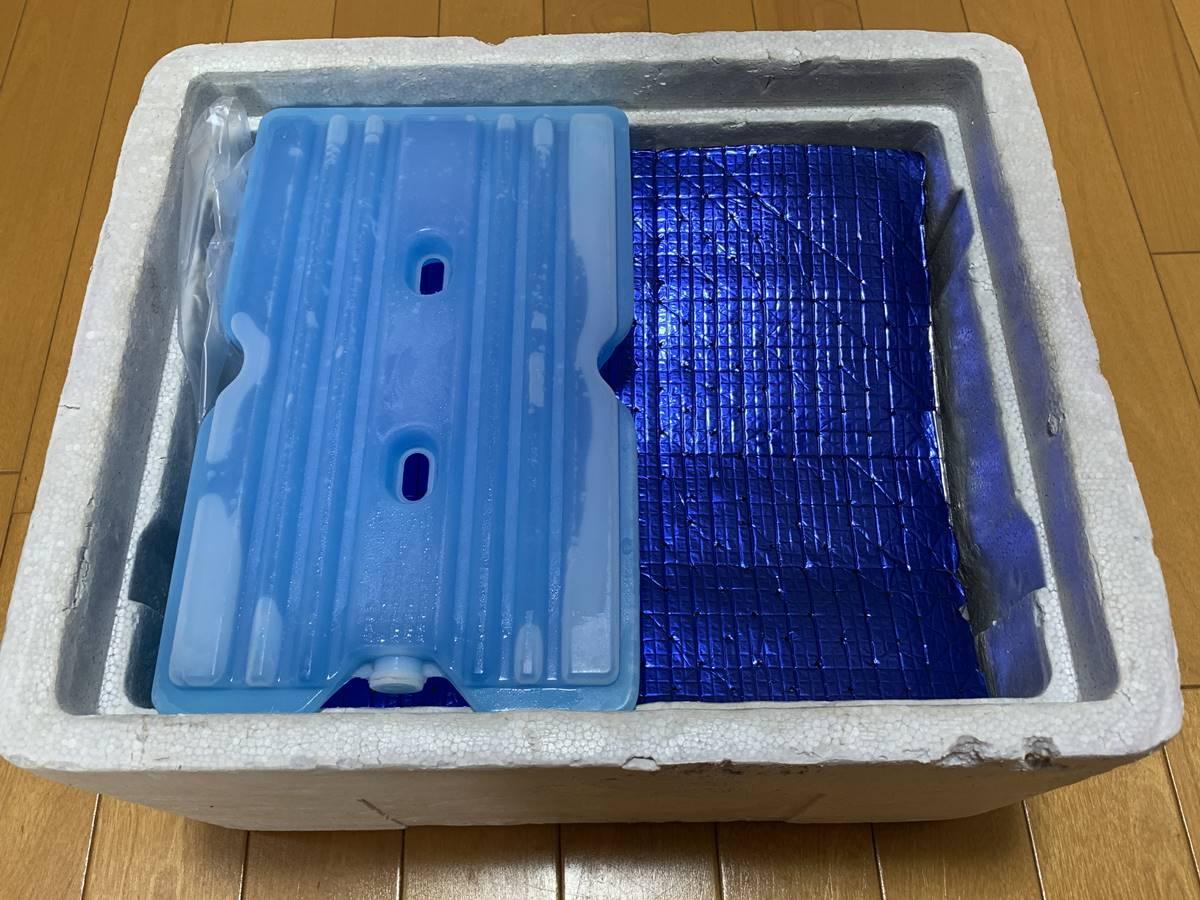 コープしがの保冷剤と保冷シート