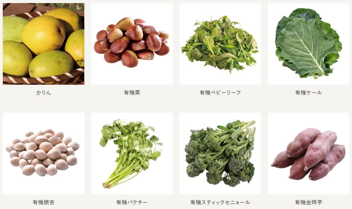 ビオ・マルシェの珍しい野菜